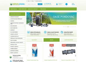 E-shop Bakterie, Enzymy